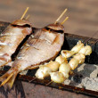 Fish preparation - Stock Photo