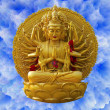 Buddhist statue — Stockfoto