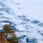 Frozen Lake Baikal — Stock Photo #2217528