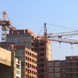 Houses under construction — Stock Photo #2248443