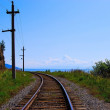 Railroad track — Stock Photo #2306536