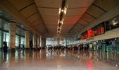 Dalian airport , China. — Stock Photo