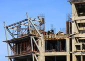 строящееся здание — Стоковое фото