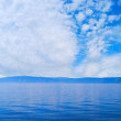 Royalty-Free Stock Photo: Cloudy sky. Baikal Lake.