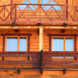 Part of wooden house — Stock Photo #2499278