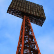 Stock Photo: Stadium light tower