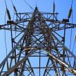 Electricity pylon — Stock Photo