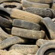 Pile of wheels — Stock Photo