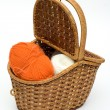 Isolated fashion basket — Stock Photo
