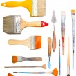 Brushes and other art making tools — Stock Photo #1113729