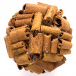 Shape of cinnamon — Stock Photo