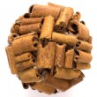Stock Photo: Shape of cinnamon