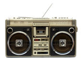 Old tape-recorder — Stock Photo