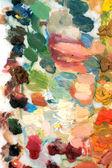 Colored palette — Stock Photo