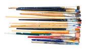 Old brushes — Stock Photo