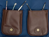 Brushes in the pockets — Stock Photo