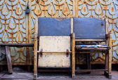 Grunge chairs — Stock Photo