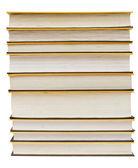 Mucchio di libri — Foto Stock