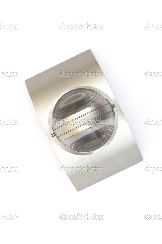 Abstract object from metal and glass — Stock Photo #1111522