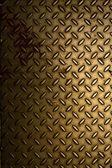 Gold Shiny Plate — Stock Photo