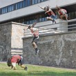 Stock Photo: Parkour