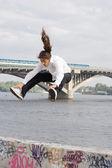 Free running — Stock Photo