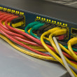 Stock Photo: Multicolored connection