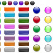 Royalty-Free Stock Imagen vectorial: Web buttons
