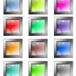 Web buttons — Stock Photo