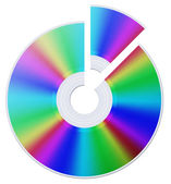 Cd disc — Stock Photo