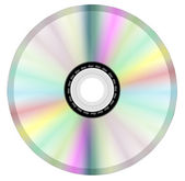 Disk dvd cd isolated — Stock Vector