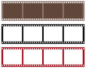 Strip film — Stock Vector