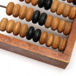 Royalty-Free Stock Photo: Part of old wooden abacus