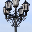 Old black street lamp — Stock Photo #1114335