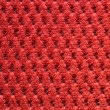 Red upholster material close-up — Stock Photo