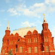 Russian Historical Museum on Red Square — Stock Photo