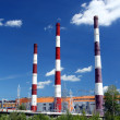 Stock Photo: Factory chimneys