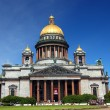 Isaakiy cathedral in Saint-petersburg — Stock Photo