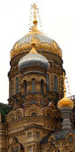 Cupola on russian church — 图库照片
