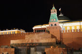 Lenin mausoleum on red square, Moscow — Stock Photo