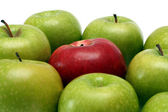 Separation concepts with apples — Stock Photo