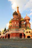 Vasiliy Blazhenniy church in Moscow — Stock Photo