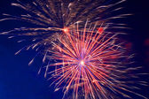 Celebration fireworks — Foto Stock
