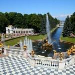 Petergof park in Saint Petersburg Russia — Stock Photo #1125469