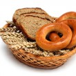 Bread basket — Stock Photo
