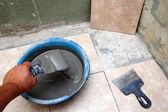 Alt döşeme ceramicson kat — Stok fotoğraf