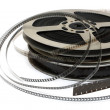Stack of old movie films — Stock Photo #1582987