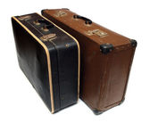 Old battered cases — Stock Photo