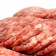 Raw minced meat close-up — Stock Photo