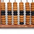 Part of old wooden abacus — Stock Photo
